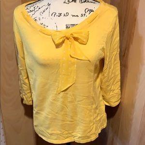 Vibrant yellow sweater
